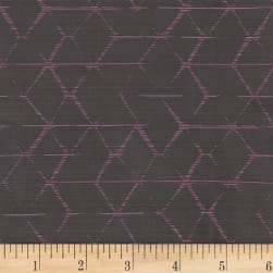 Crypton Unveil Jacquard Sassy Plum Fabric