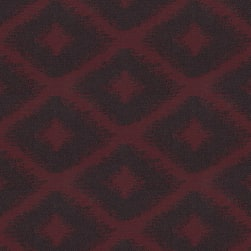 Abbey Shea Cohesion Jacquard Bordeaux Fabric