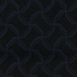 Crypton Sync Jacquard Midnight Blue Fabric