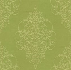 Crypton Ornamental Jacquard Sprig Fabric