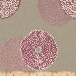 Abbey Shea Charlie Jacquard Passion Flower Fabric