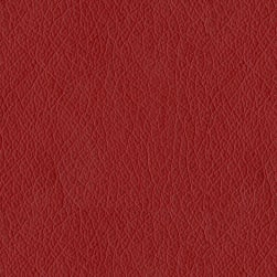 Abbey Shea Oklahoma Faux Leather Red Fabric