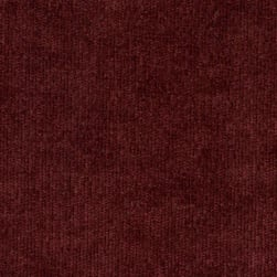 Abbey Shea Berry Chenille Red Wine Fabric
