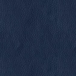 Abbey Shea Kendrick Faux Leather Navy Fabric