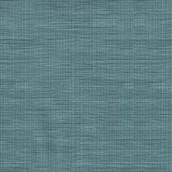Spradling Chambray Vinyl Aquamarine Fabric