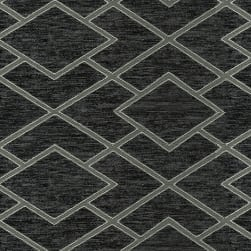 Abbey Shea Commitment Woven Charcoal Fabric