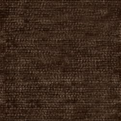 Abbey Shea Berry Chenille Deep Brown Fabric