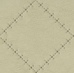 Abbey Shea Basilica Faux Leather Chardonnay Fabric