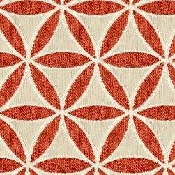 Abbey Shea Turnbow Woven Russet Fabric