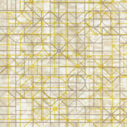 Spradling Network Vinyl Sunshine Fabric