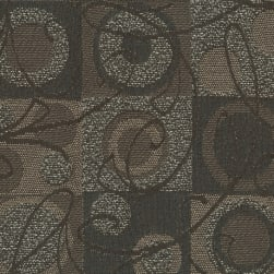 Crypton Ambiance Jacquard Chocolate Fabric