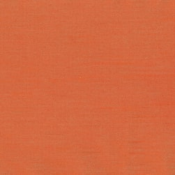 Abbey Shea Riverton Faux Silk Cadmium Orange Fabric