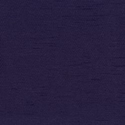 Abbey Shea Riverton Faux Silk Dark Violet Fabric