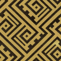 Abbey Shea Marathon Jacquard Harvest Gold Fabric