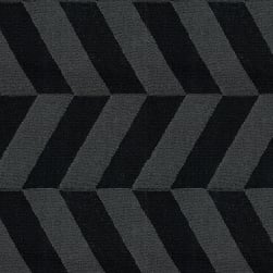 Abbey Shea Symmetry Jacquard Black Fabric