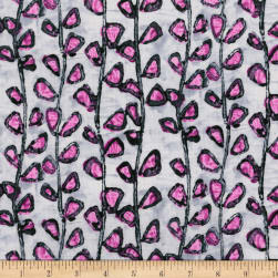 Florabunda Tendrils Bengal Rose Fabric