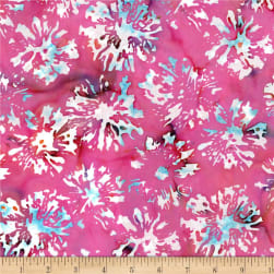 Blossom Batiks Splash Daisies Sweet Pea Fabric