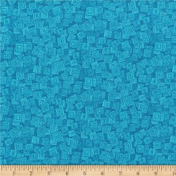 RJR Hopscotch Overlapping Squares Cove Fabric