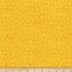 RJR Hopscotch Rose Petals Daffodil Fabric