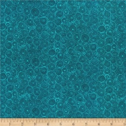 RJR Hopscotch Intertwining Puddles Ocean Fabric