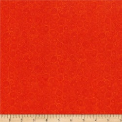 RJR Hopscotch Intertwining Puddles Tomato Fabric