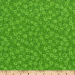RJR Hopscotch Deconstructed Dandelions Kelly Fabric