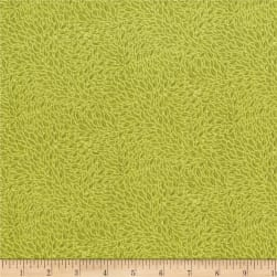 RJR Hopscotch Leaves In Motion Avocado Fabric