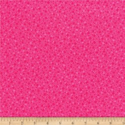 RJR Hopscotch Square Dance Hot Pink Fabric