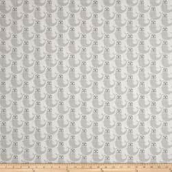 Premier Prints Russ French Grey Fabric