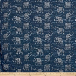 Premier Prints Jumbo Twill Premier Navy Fabric