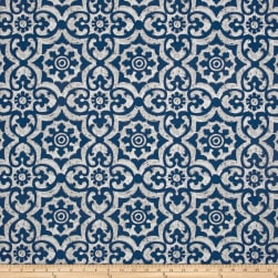 Premier Prints Outdoor Athens Zaffre Fabric