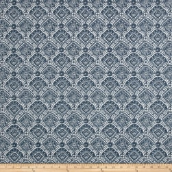 Premier Prints Outdoor Kipling Slate Blue Fabric