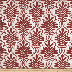 Premier Prints Luxe Outdoor Ecuador Sangria Fabric
