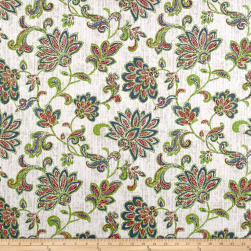 Premier Prints Luxe Outdoor Grove Viridian Fabric
