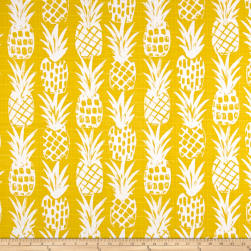 Premier Prints Luxe Outdoor Pineapple Pineapple Fabric