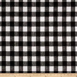 Premier Prints Buffalo Plaid Slub Canvas Ink Fabric