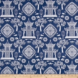 Premier Prints Spirit Slub Canvas Regal Navy Fabric