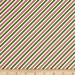 Maywood Studio Christmas Joys Flannel Candy Cane Stripe