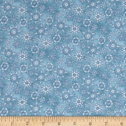 Maywood Studio Christmas Joys Flannel Miniature Snowflakes Medium