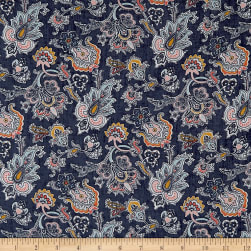 Liberty Fabrics Louis Sycamore Linen Fabric