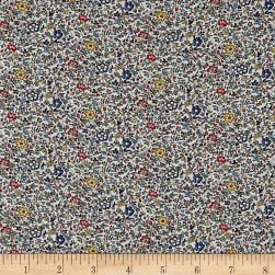 Liberty Fabrics Katie and Millie Sycamore Linen Fabric