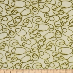 Rodeo Round Up Lasso Rope Cream Fabric
