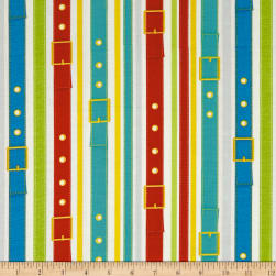 Dogs & Suds Dog Collar Stripe Multi Fabric
