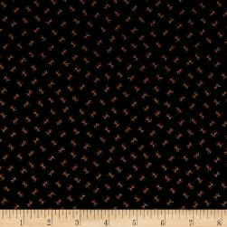 Kim Diehl Farmstead Twigs & Berries Ebony Fabric