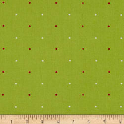 Ring In The Holly Days Large Dot Green