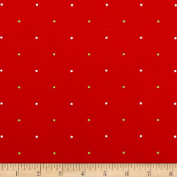 Ring In The Holly Days Large Dot Red