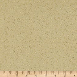 Believe Stars & Dots Cream/Gold Fabric