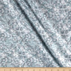 Pearl Luxe Tile Texture Metallic Lt Teal Fabric