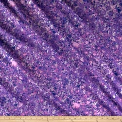 Pearl Luxe Granite Metallic Purple Fabric