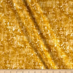 Pearl Luxe Lemongrass Weave Metallic Gold Fabric